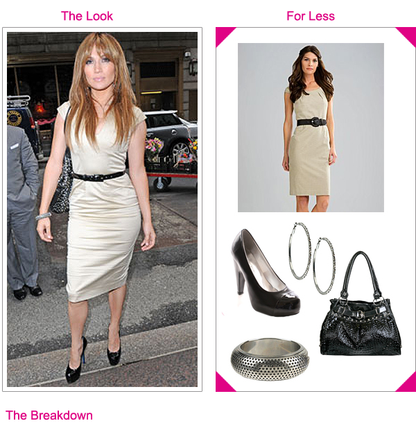 Jennifer Lopez -  Get The Look For Less