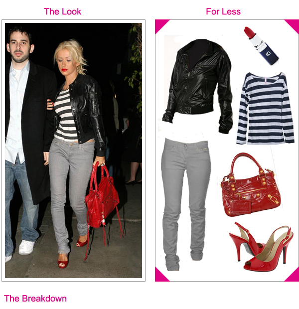 Christina Aguilera, GET THE LOOK - VOICE ELIMINATION SHOW ...