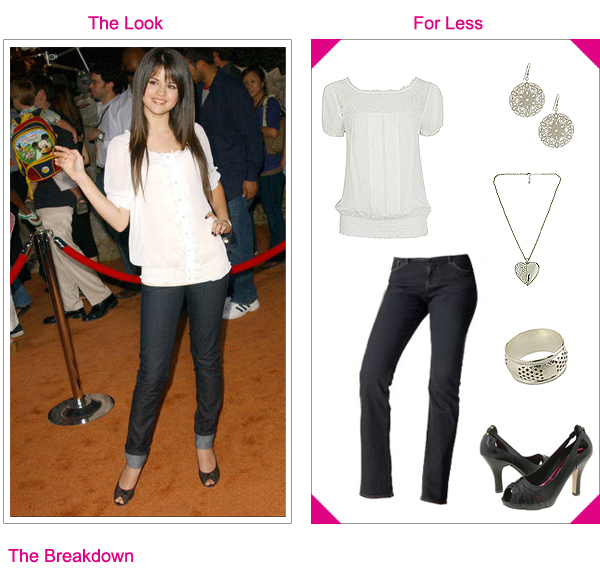 selena gomez who says shoes. Selena Gomez - Get The Look