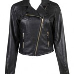 In My Closet – Faux Leather Moto Jacket