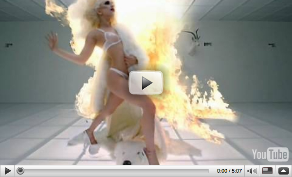 pictures of lady gaga bad romance