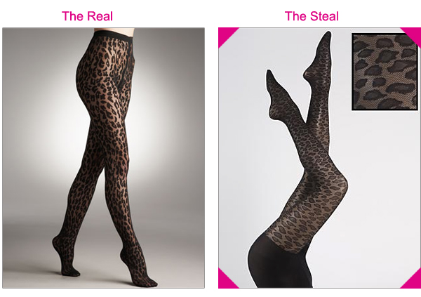Steal the Real – Wolford Leopard Tights
