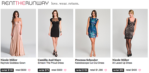 Rent The Runway – Designer Party Dresses For Less | The Looks For Less