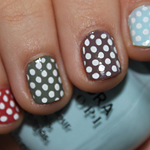 Manicure Monday  Pretty Pretty Polka Dots