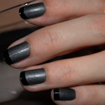 Manicure Mondays – Matte Is Murder With Shiny Tips