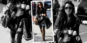Vanessa Hudgens Snowflake Sweater &#038; Suede Boots - Get The Celebrity Look For Less