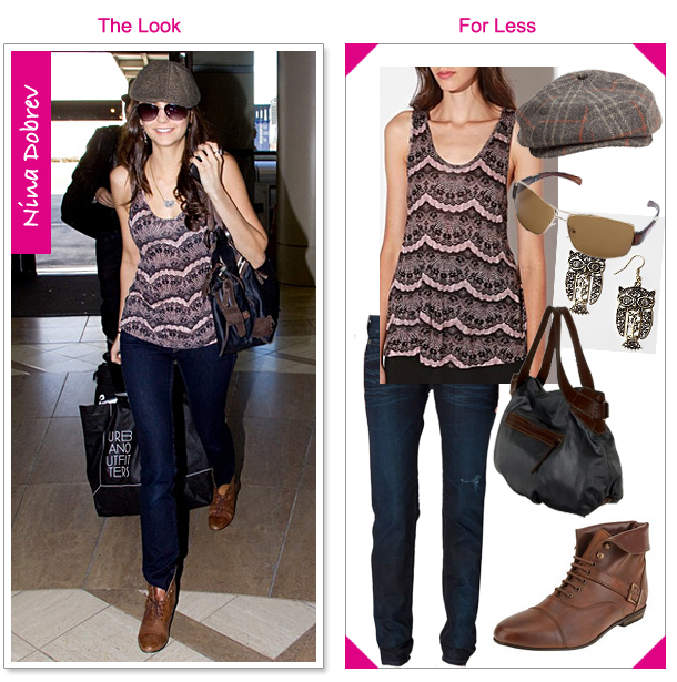 Nina Dobrev - The Look For Less