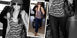 As Seen On  Nina Dobrev in Urban Outfitters - Get The Celebrity Look For Less