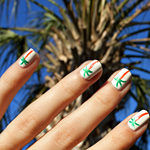 Manicure Mondays &#8211; Alexa Chung&#8217;s Palm Tree Manicure