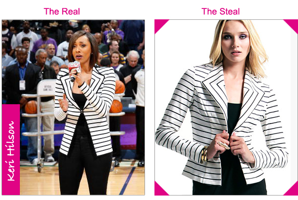 Black And White Striped Blazer Outfit Givenchy Black White Striped