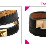 Steal the Real – Hermes Leather Double Wrap Bracelet