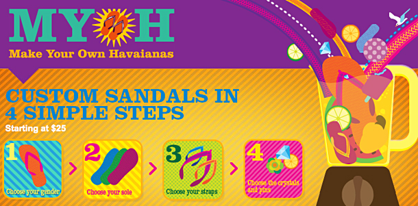Make Your Own Flip Flops Havaianas