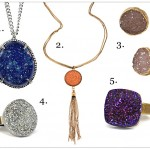 5 Under $50 – Oh-So-Sparkly Druzy Jewelry