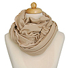 Beige Tube Scarf at The Looks For Less