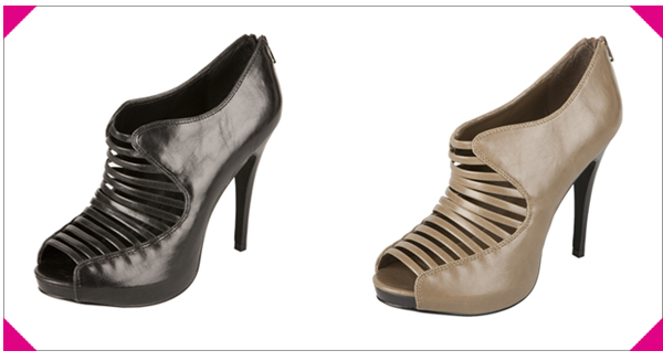 Cage Strappy Platform Pumps - Get The Look For Less
