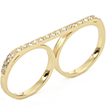 Steal the Real – Campise Double Diamond Ring