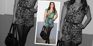As Seen On – Nikki Reed in a French Connection Romper - Get The Celebrity Look For Less